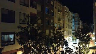 Aplausos para los profesionales sanitarios desde los balcones de Logroño