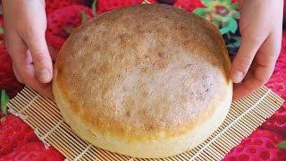 Домашний хлеб в форме Простой рецепт Вкусный хлеб