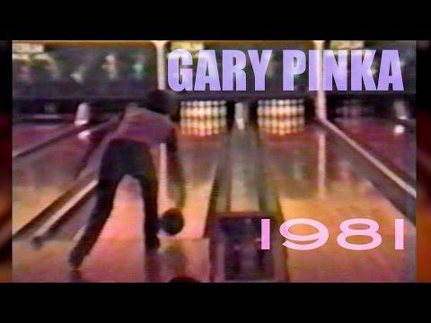 Gary Pinka bowling, 1981