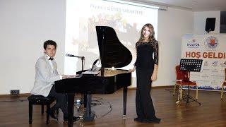 GEL SEN BİZE AKŞAM YİNE MEHTAP GÖRÜNSÜN Türk Sanat Müziği Şarkı Konseri Piyano Keman Solist Trio