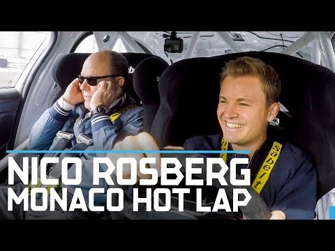 Nico Rosberg Takes Prince Albert For A Monaco Hot Lap | ABB