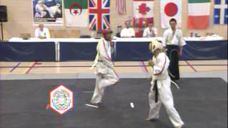 2014 Koshiki Karate World Cup , London Ontario, Canada. Fighting Divisions Full