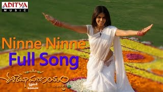 Ninne Ninne Full Song ll Sashirekha Parinayam Movie ll Tarun, Genelia D'Souza