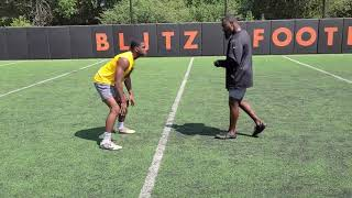 Xavier Rogers Linebacker   Footwork King Evaluation FBS D1 Ready   Class of 2021 part 3