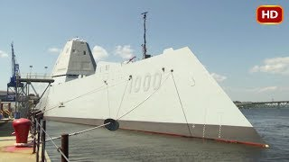 Inside the Stealth Destroyer USS Zumwalt, the Warship That Runs on Linux