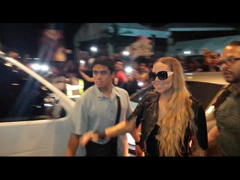 Mariah Carey Arrives In Manila