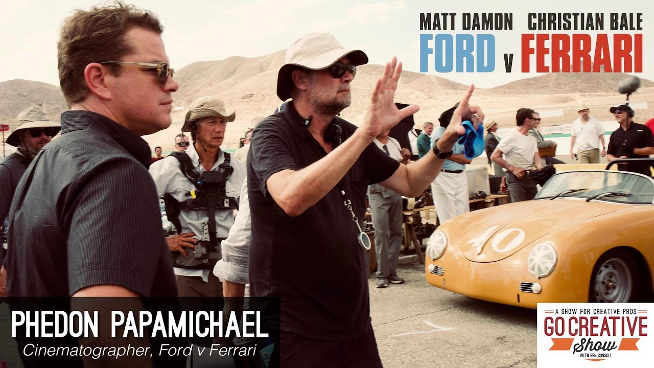 Ford V Ferrari Cinematography With Phedon Papamichael Gcs196