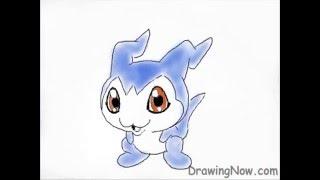 How To Draw Digimon - Demiveemon