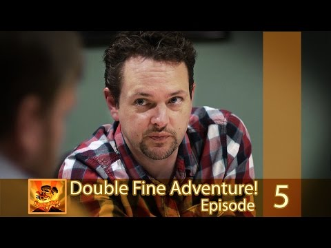 "Double Fine Adventure! EP05: ""It's Gonna Get Hairy"""