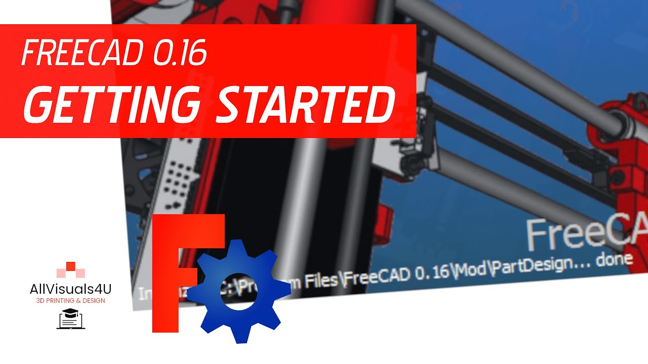 Getting started with FreeCAD - YouTube