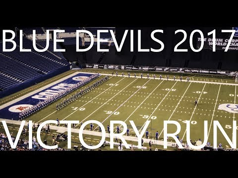 Blue Devils 2017 - Metamorph - Victory Run