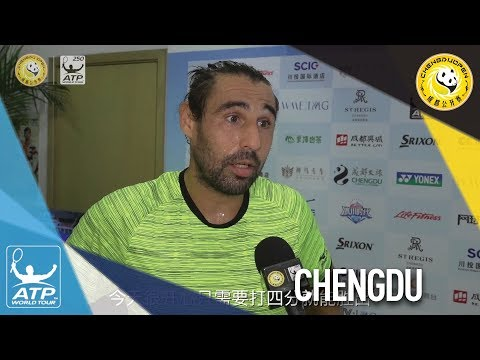 Baghdatis Bounces Back From Rain Delay Chengdu 2017