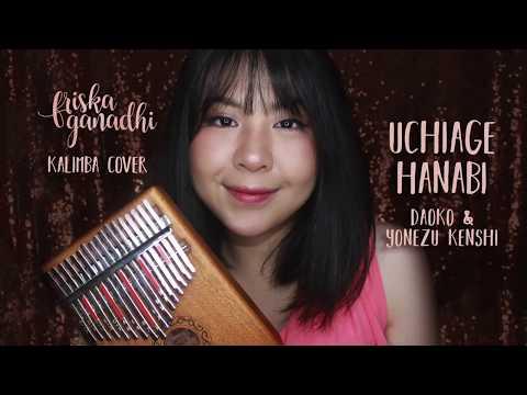 Uchiage Hanabi - DAOKO & Yonezu Kenshi - Kalimba Indonesia - Friska Ganadhi - Tab Link On The Desc