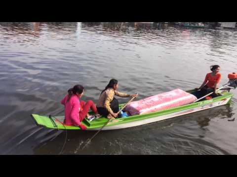 Cambodian commerce river style