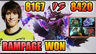 Dendi Dota 2 vs Xcalibur - That RAMPAGE WIN The GAME