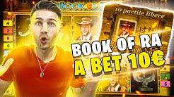 BOOK OF RA BONUS A BET 10€ / SUPER VINCITA / CASINO ITALIANO / CONCORSO NATALE