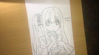 Speed Drawing - Izumi Sagiri ( Eromanga-sensei ) #PART 1