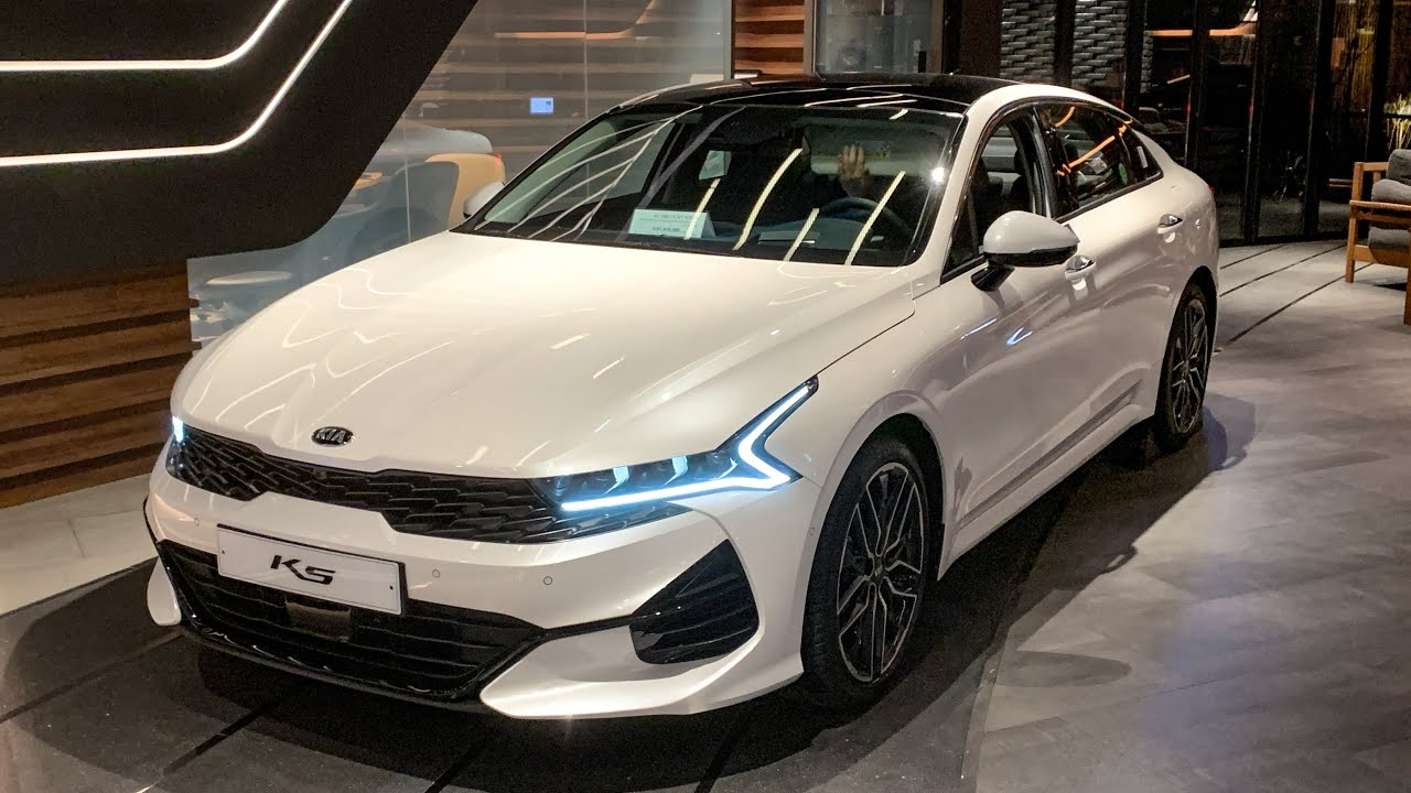 The New 2021 Kia K5 Optima Interior Exterior First Look Youtube