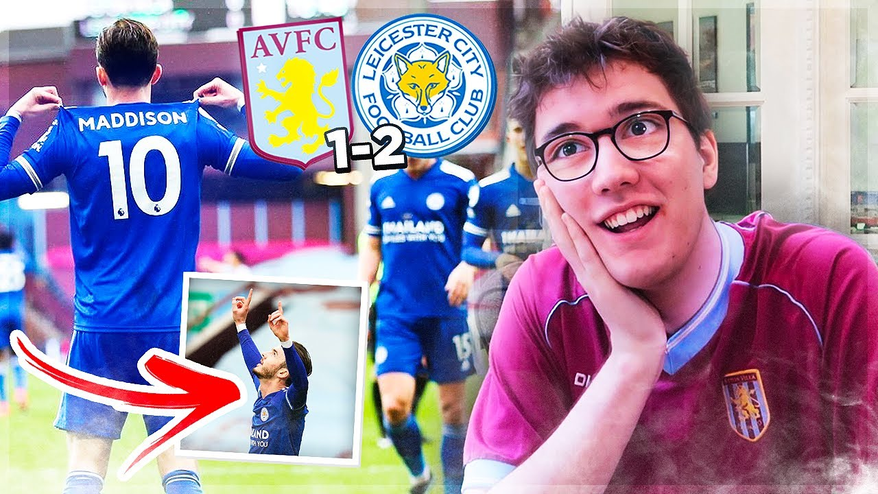 *MADDISON AND BARNES SCORE IN FRUSTRATING DEFEAT* | ASTON VILLA 1-2 LEICESTER CITY | *LIVE REACTION*