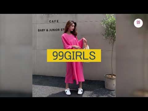 99걸즈 / 아기자기 러블리한 여성 의류 쇼핑몰 / SEASON 이지룩 롱 원피스
