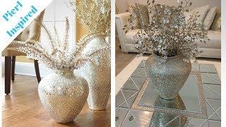 Pier1 Inspired DIY || 💕 Champagne Gold Vase || + Bonus DIY 💕
