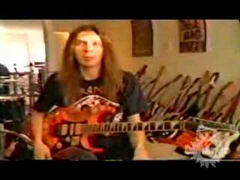 Paul Gilbert's 1992 DiMarzio Interview