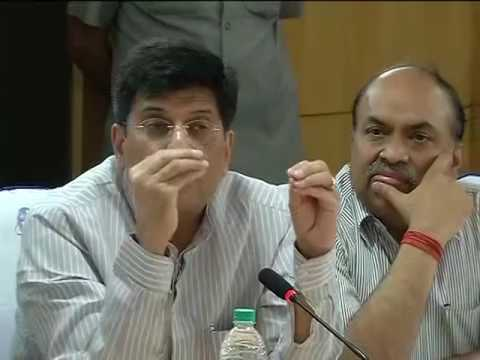Piyush Goyal warning officers