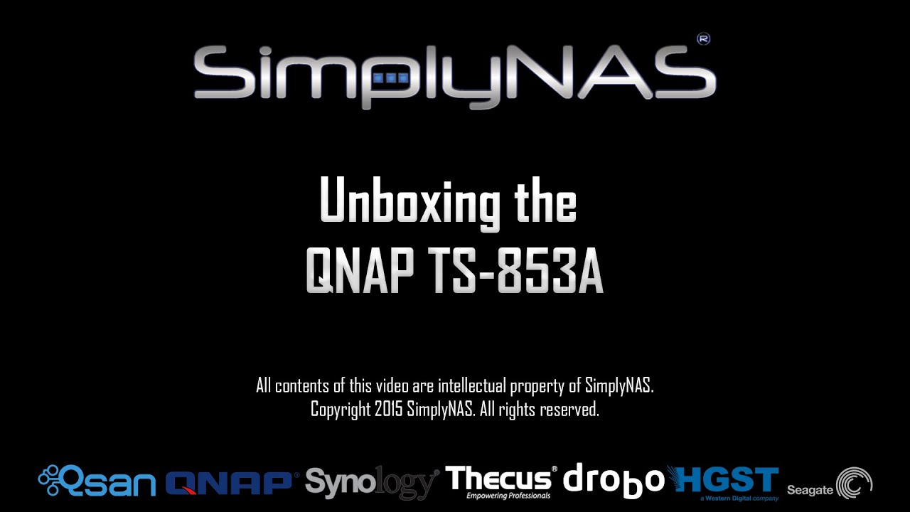 QNAP TS-853A 16GB 48TB (6x8TB) 8-bay 2U NAS Integrated with HGST Ultrastar  (Enterprise)