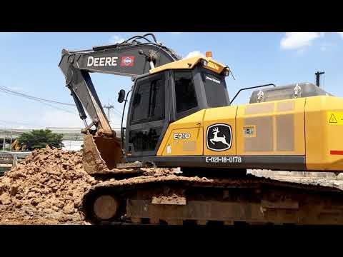 ืNEW JOHN DEERE E210LC Excavator  Made In Usa จัดว่าหล่อครับ EP.4908