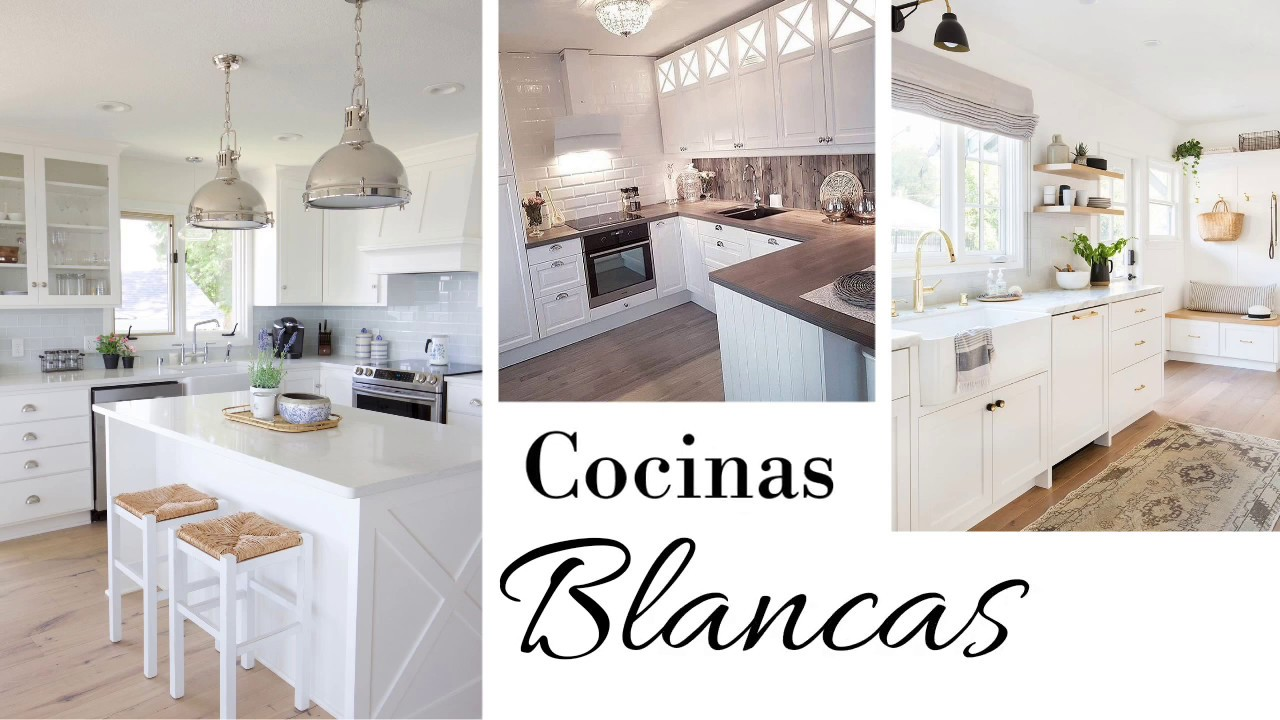 Ideas De Decoración Para Cocinas Cocinas En Color Blanco Avanguardia Youtube