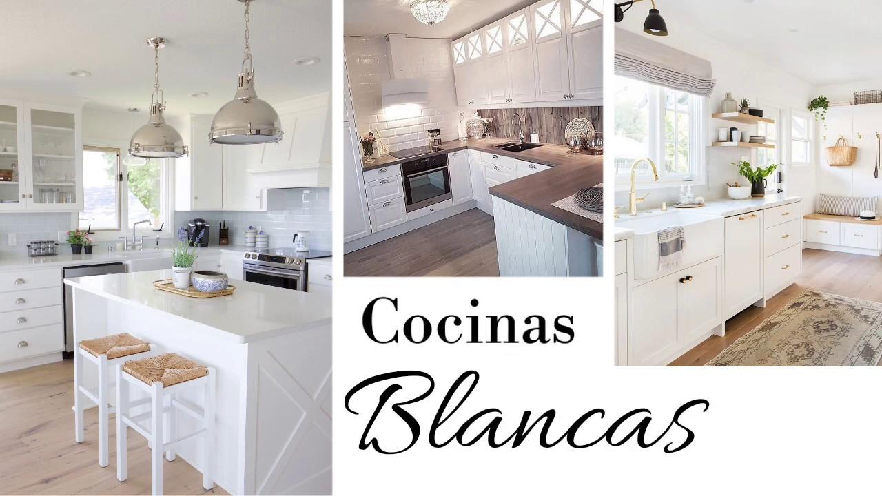 Ideas De Decoración Para Cocinas Cocinas En Color Blanco Avanguardia