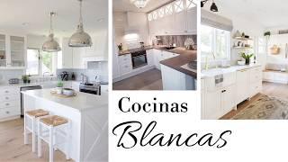 Gambar cover IDEAS DE DECORACIÓN PARA COCINAS | Cocinas en color BLANCO | AVanguardia