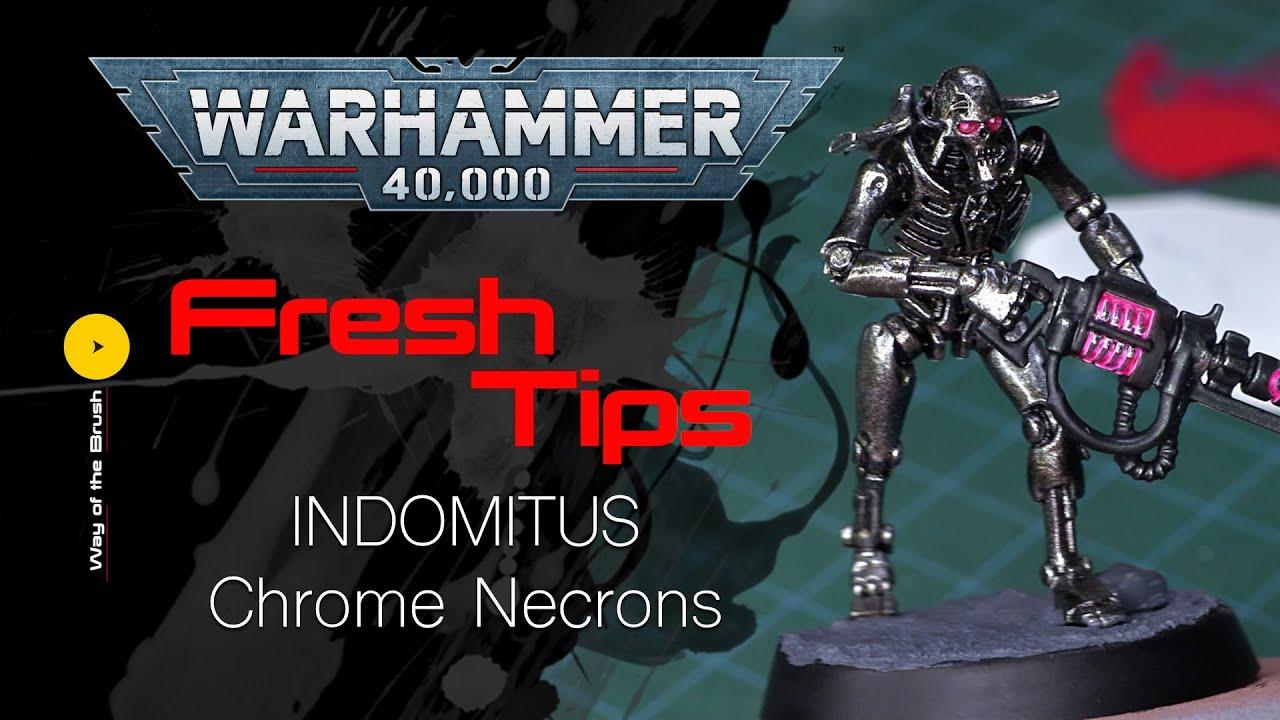 Indomitus NECRON skorpekh Destroyer un