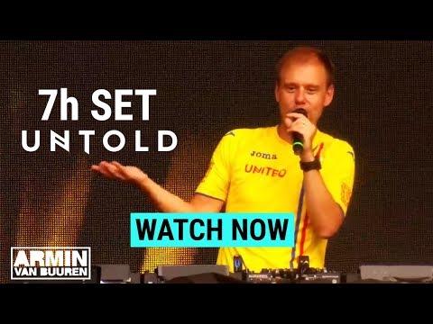Armin Van Buuren After 7h Set At Untold Festival **EMOTIONAL MOMENT**