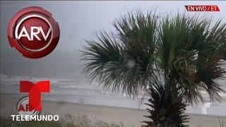 Florence azota sin compasión a Carolina del Norte | Al Rojo Vivo | Telemundo