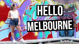 Hello Melbourne!   Melbourne Vlog Part One
