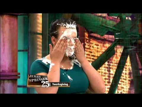 Thanksgiving Food Fight on The Jerry Springer