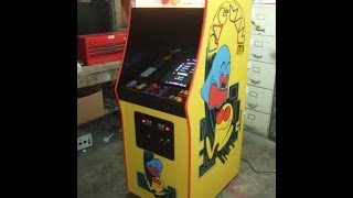 #607 Bally Midway Pacman--restored Original Cabinet By Tnt Amusements