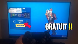 """NEW GLITCH"" BE PALIER 100 SAISON 10 FREE ON FORTNITE! GLITCH TIER 100"