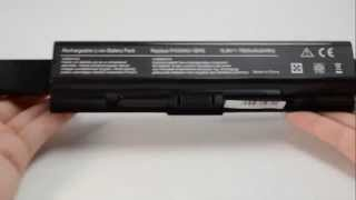 Toshiba Satellite Extended Run A200 A205 A210 A215 A305 A355 L305 L305D L450 L455 L455D Battery