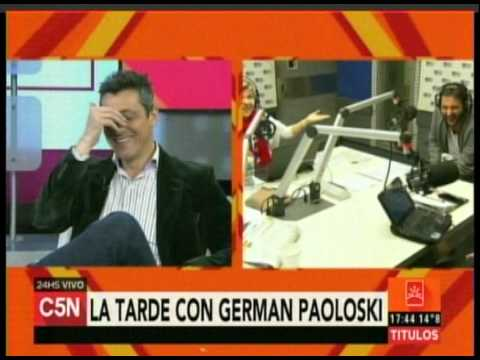 C5N - Duplex en La Tarde con German Paoloski en Radio 10