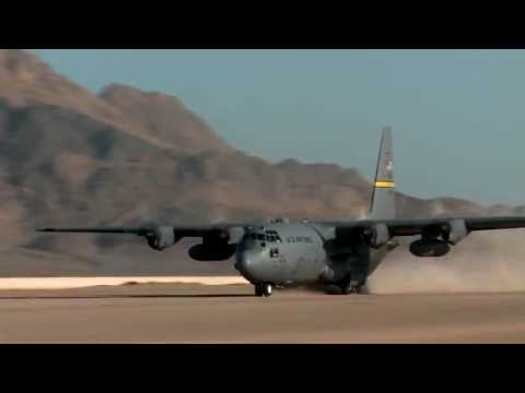 C-130 Hercules Takes Off From FOB Farah As US Military Draws Down From Afghanistan