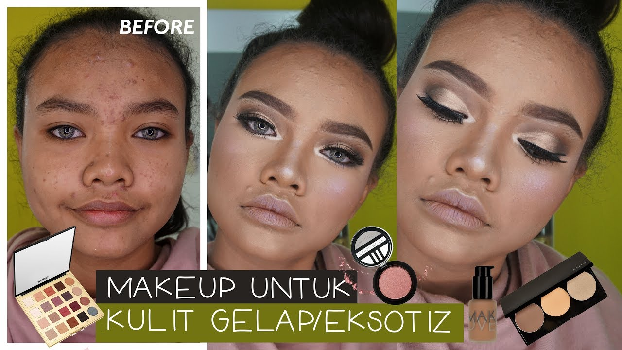 Makeup Menutupi Jerawat Berminyak Dan Kulit Gelap
