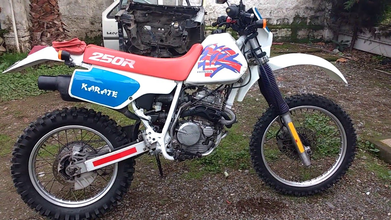 honda xr 250 colecci n 1992 youtube. Black Bedroom Furniture Sets. Home Design Ideas