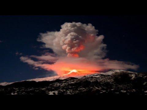 Live VOLCANO Eruption Mount Etna