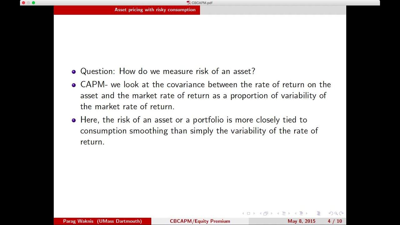 Asset Pricing Pdf