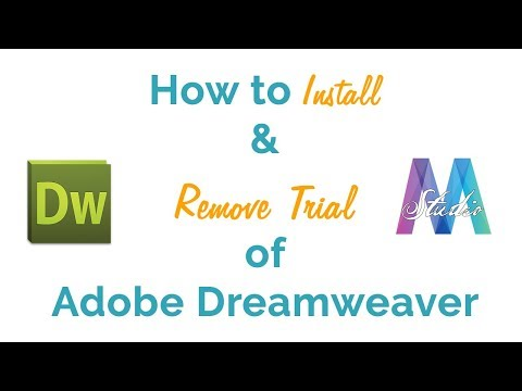 How To Install And Remove Trial Of Adobe Dreamweaver || Nepali