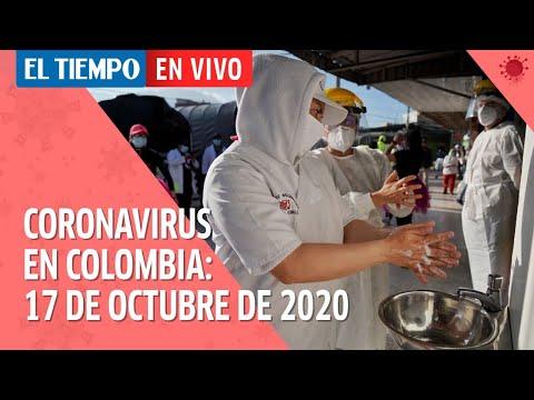 Coronavirus en Colombia: El país supera los 950.000 casos confirmados