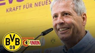 Voller Fokus aufs Pokalspiel | PK mit Lucien Favre | BVB - Union Berlin