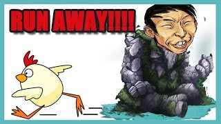 SingSing Dota 2 - Run Away!!!! We Don